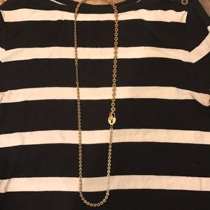 BCBG gold necklace